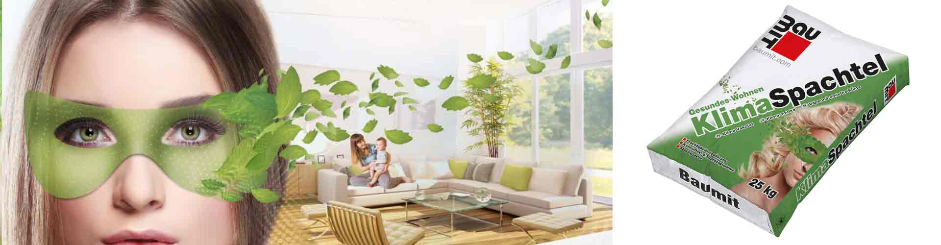 Baumit Klimaspachtel vakolat