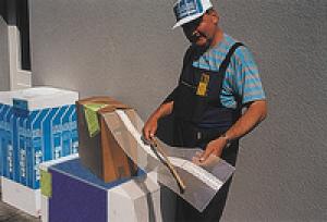 Baumit állítható szögű sarokvédő, tekercsben