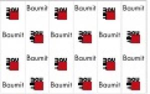 Baumit felirat nélküli védőháló - 180 m2